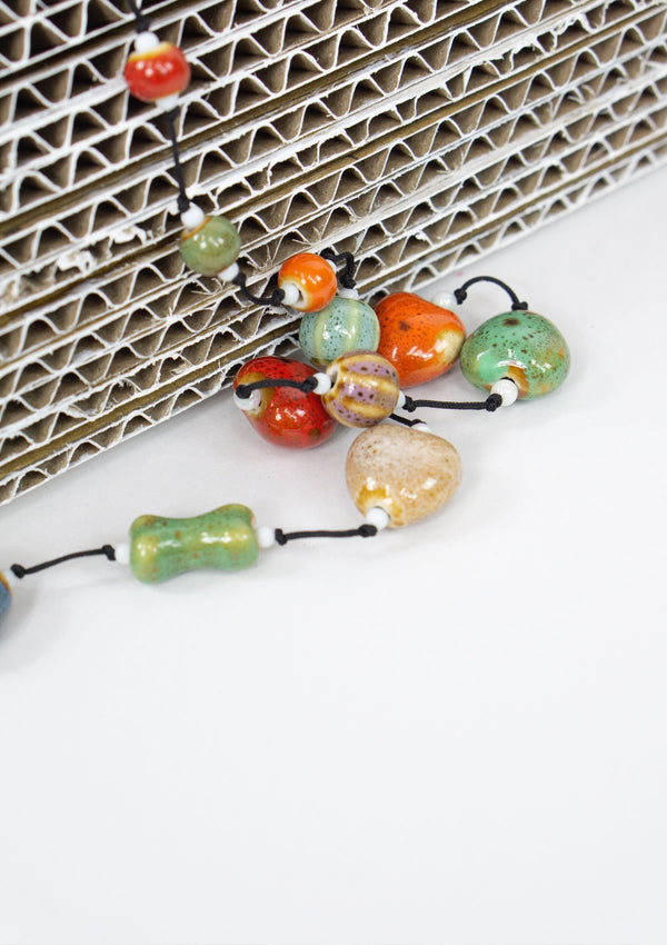 Spring Summer 2019, Fall 2019, Resort 2019/20 Rainbow Pebble Neckalce FM FC FS
