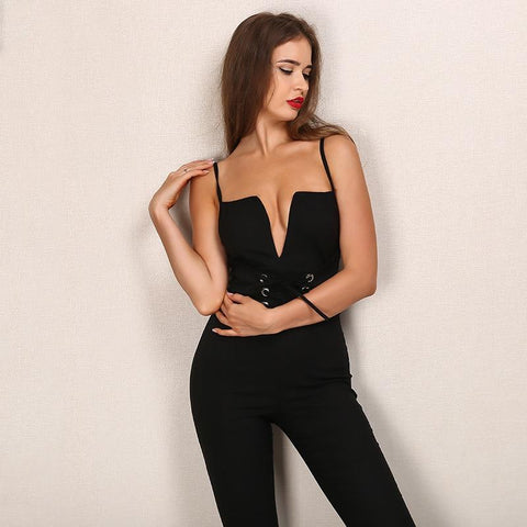 Sexy Sequin Two Piece Jumpsuit