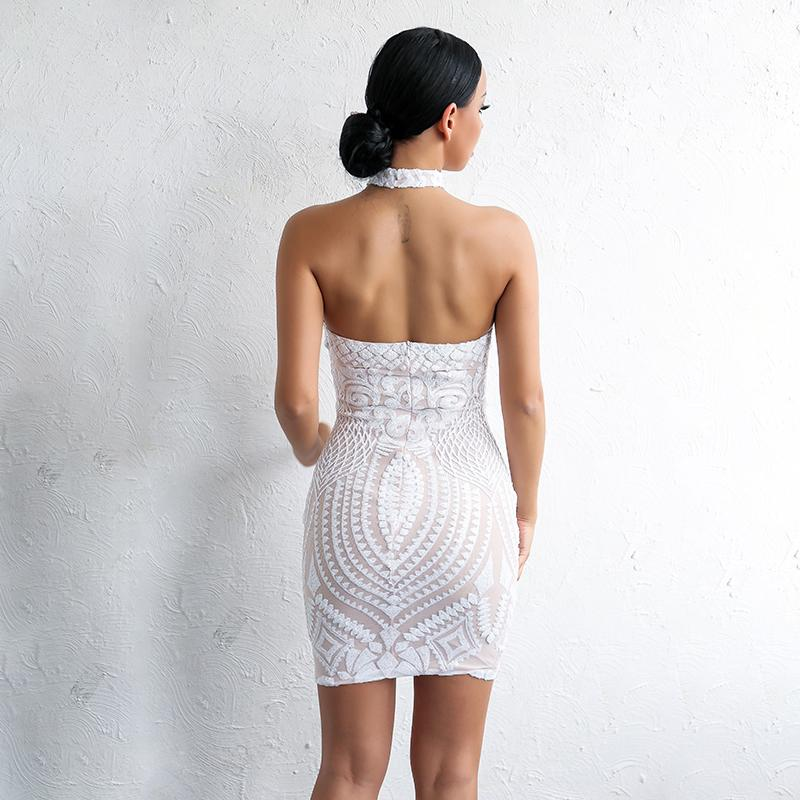 Dance All Night Backless Dress