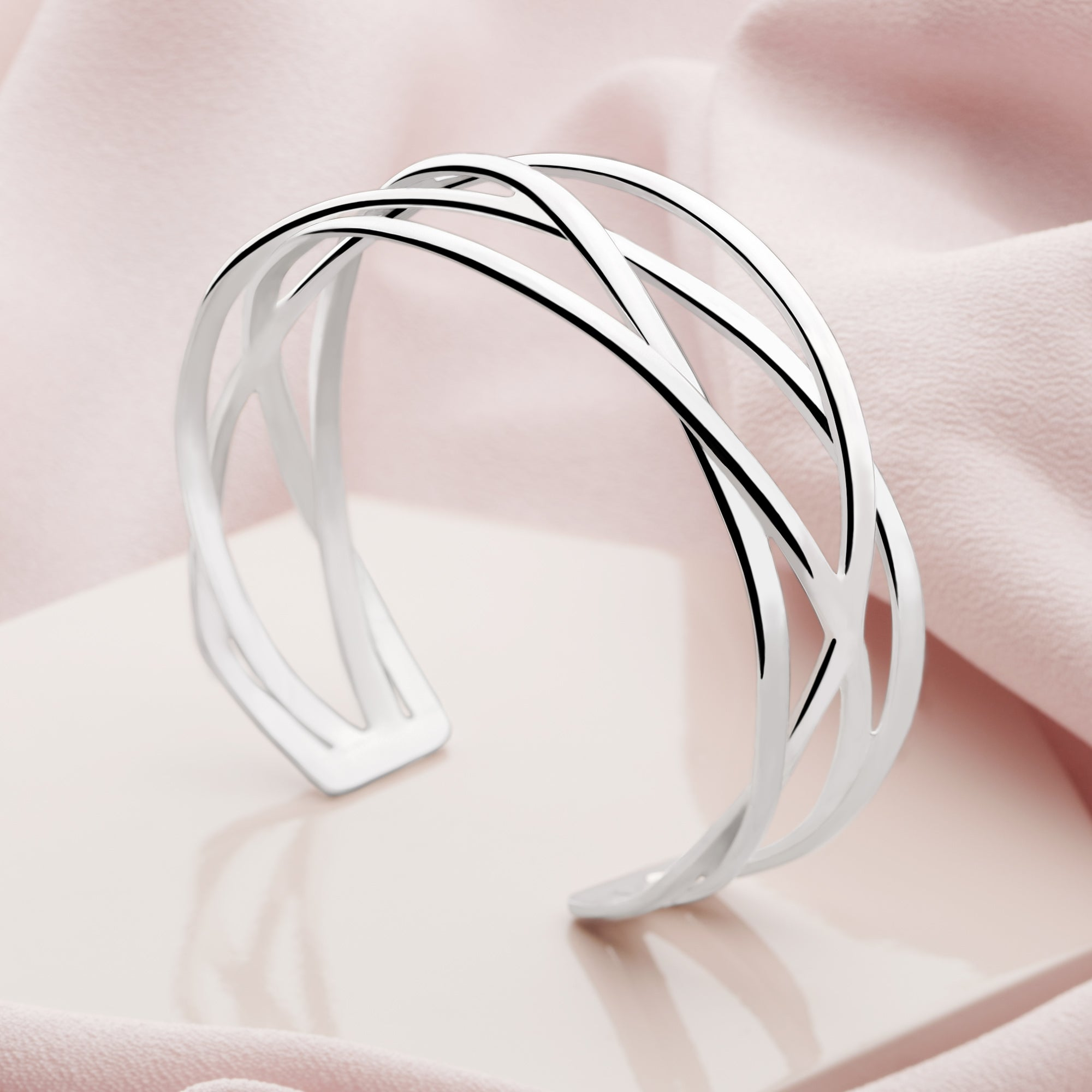 Del Fuego Silver Bangle (BGL2441)