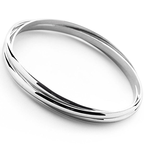 Traditional 3 in 1 Russian wedding bangle
