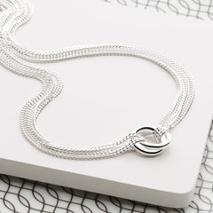Twin Hugs Necklace (CHN8181)
