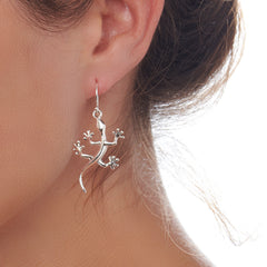 Gecko Earrings (E42961)
