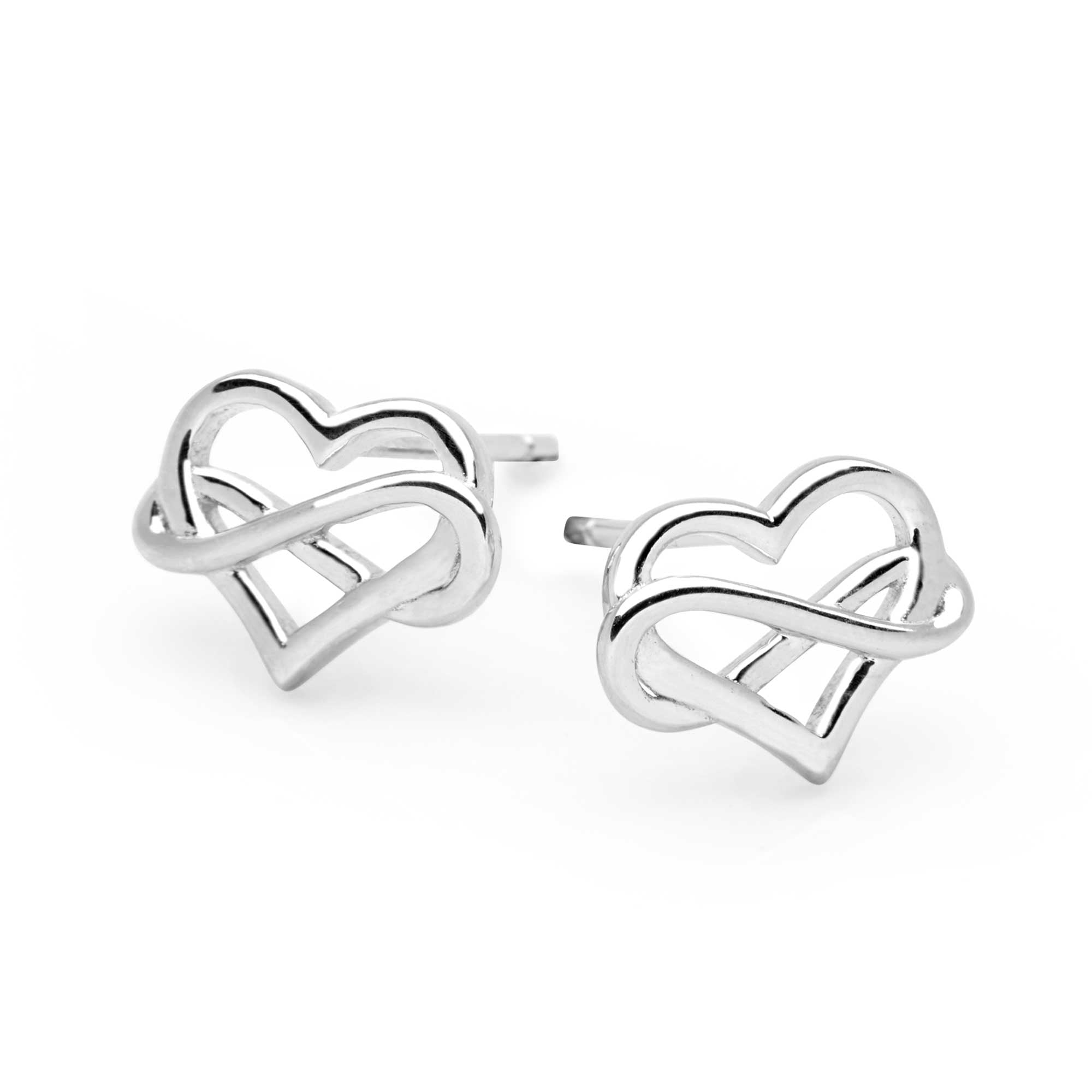 Eternal Love Heart Earrings (E51571)