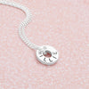 Personalised Mini CZ Pendant (P23041)