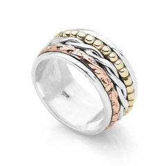 Desert Rose Spin Ring (R20691)