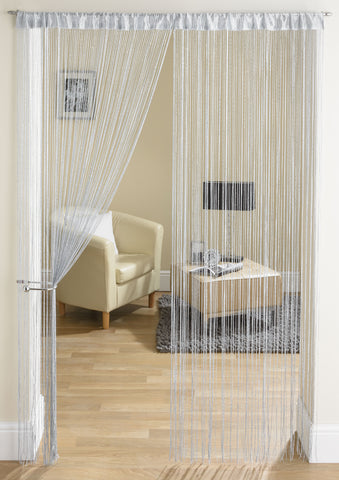 Glam Grey String Curtain