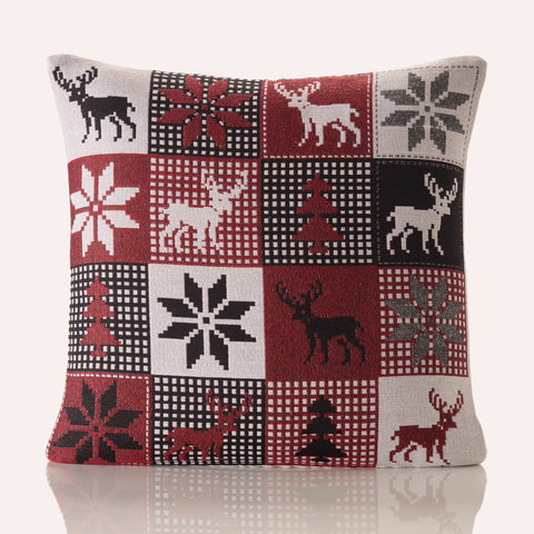 Christmas in Lapland Cushion Cover