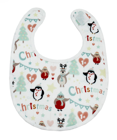 My First Christmas Collection Baby Bib