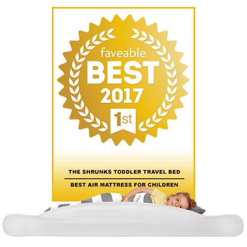 "Voted ""Best Air Mattress for Children"" by Faveable.com"