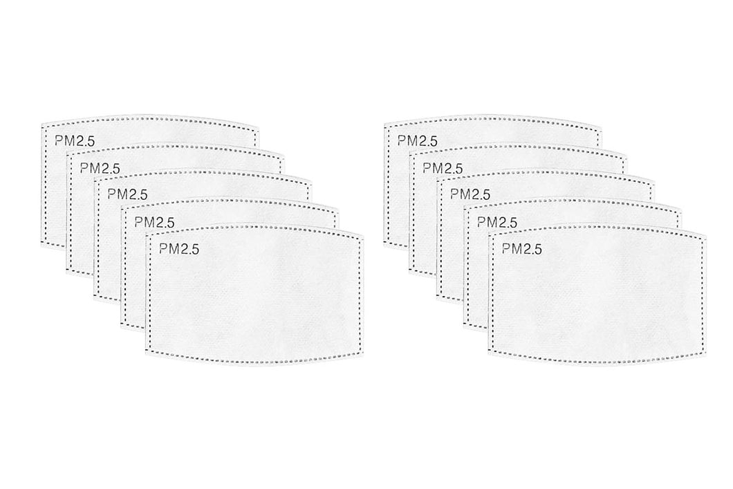 Insertable Protective PM2.5 Filters | 10-pack
