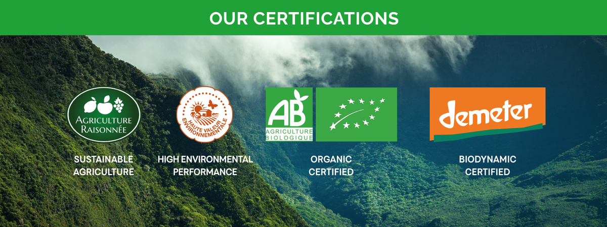 WHAT'sIN Organic and Sustainable Agriculture Certifications