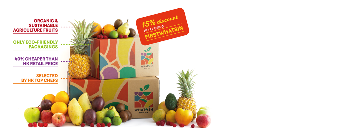 WHAT'sIN Surprise Fruit Boxes Main Features