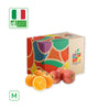 WHAT'sIN Duo Oval Calabrese Orange & Fuji Apples Duo (M - 2.5 KG)
