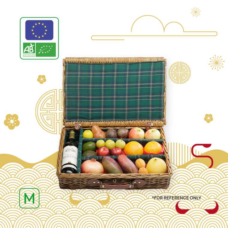 Chinese New Year Gourmet Basket (L - 4 KG)