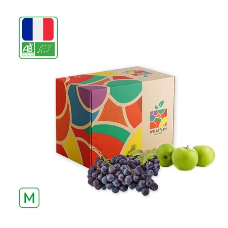 WHAT'sIN Granny Smith Apple and Black Grape Muscat de Hambourg Duo (M - 2.5 KG)