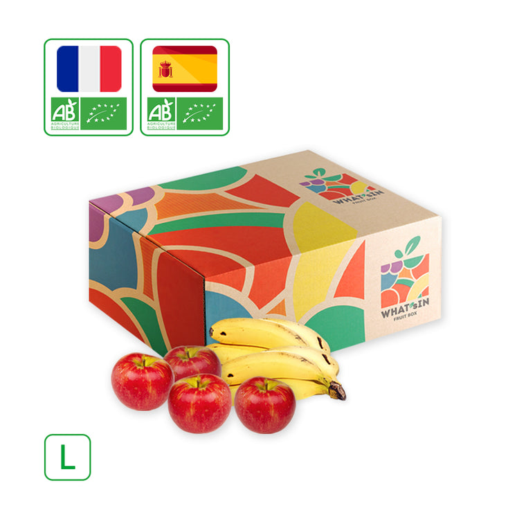 WHAT'sIN Juliet Apple & Canary Islands Banana Duo (L - 5 KG)