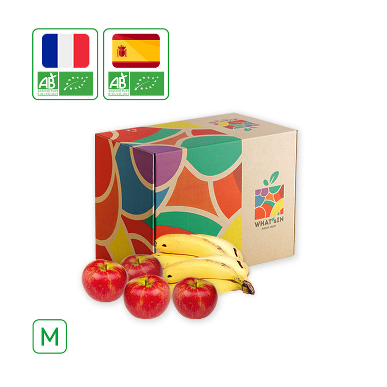 WHAT'sIN Juliet Apple & Canary Islands Banana Duo (M - 2.5 KG)