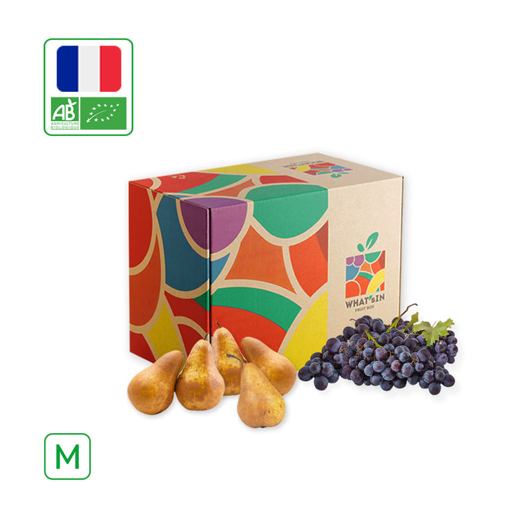 WHAT'sIN Elliot Pear & Black Grape Muscat de Hambourg Duo (M - 2.5 KG)