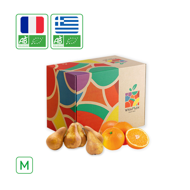 WHAT'sIN Valencialate Orange & Elliot Pear Duo (M - 2.5 KG)
