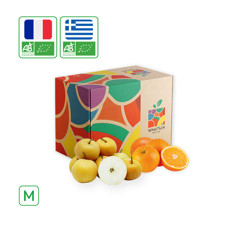 WHAT'sIN Valencialate Orange & Nashi Hosui Pear Duo (M - 2.5 KG)
