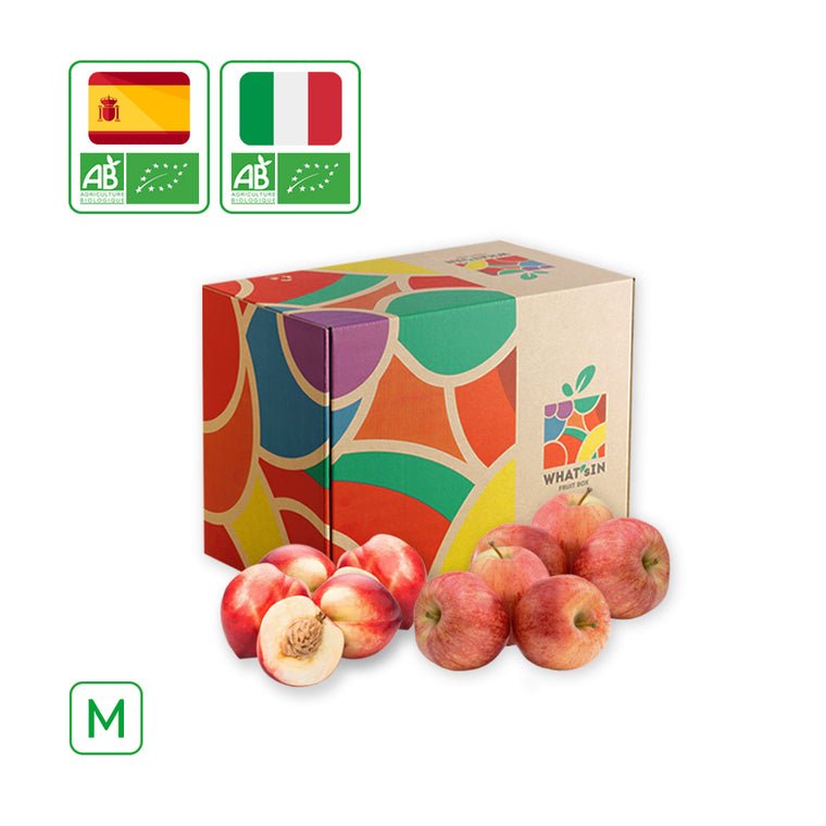 WHAT'sIN White Nectarine & Fuji Apple Duo (M - 2.5 KG)