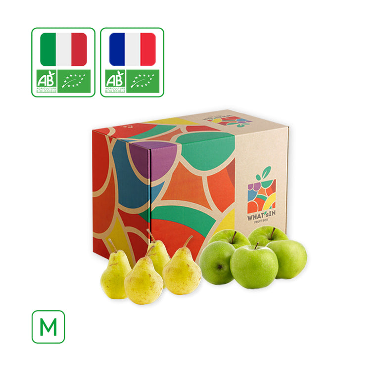 Williams Pear & Granny Smith Apple Duo (M - 2.5 KG)