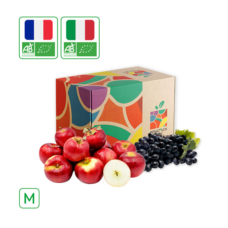WHAT'sIN Akane Apple & Black Magic Grape Duo (M - 2.5 KG)