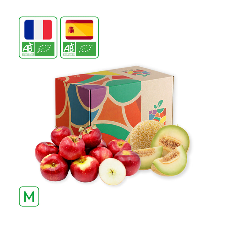WHAT'sIN Akane Apple & Galia Melon Duo (M - 2.5 KG)