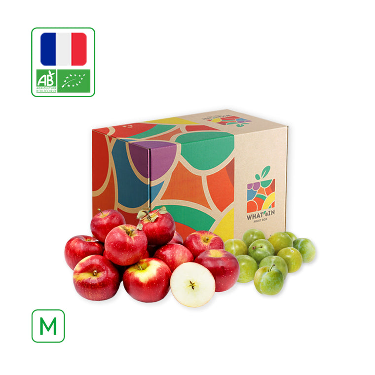 WHAT'sIN Akane Apple & Reine Claude Plum Duo (M - 2.5 KG)