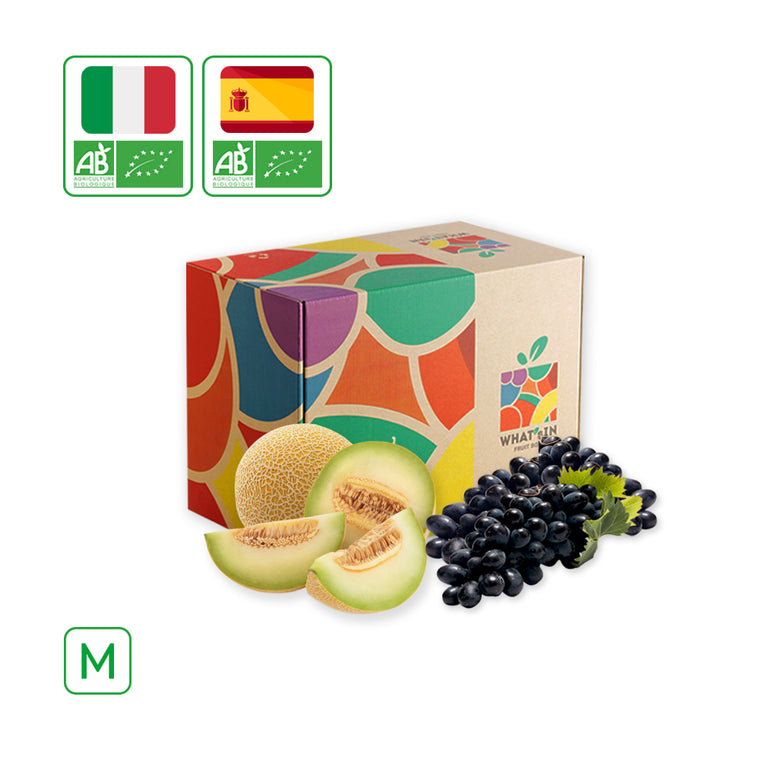 WHAT'sIN Black Magic Grape & Galia Melon Duo (M - 2.5 KG)