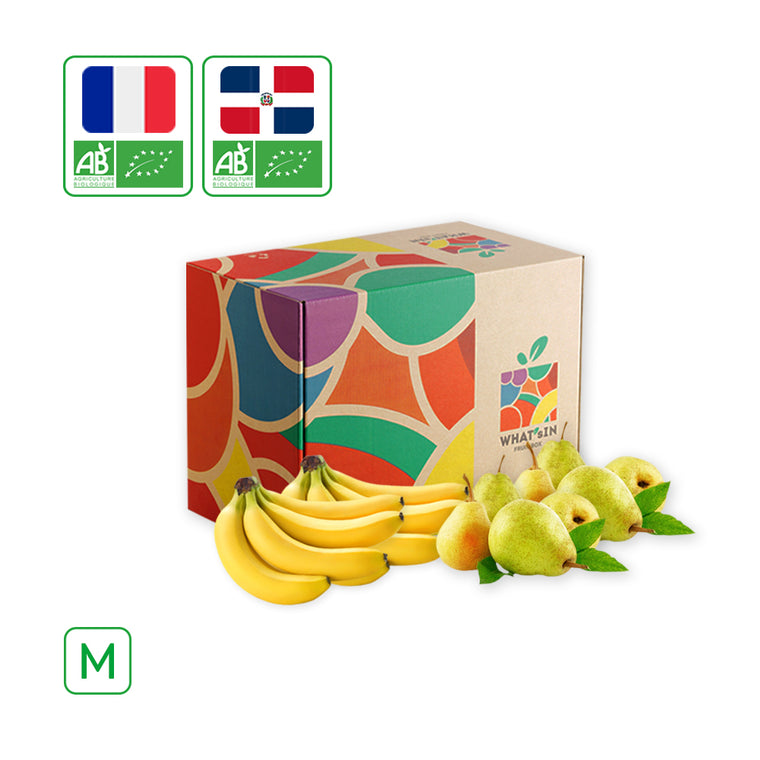 WHAT'sIN Cavendish Banana & Guyot Pear Duo (M - 2.5 KG)