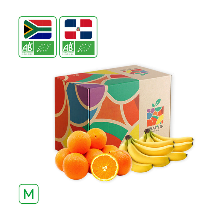 WHAT'sIN Cavendish Banana & Navel Orange Duo (M - 2.5 KG)