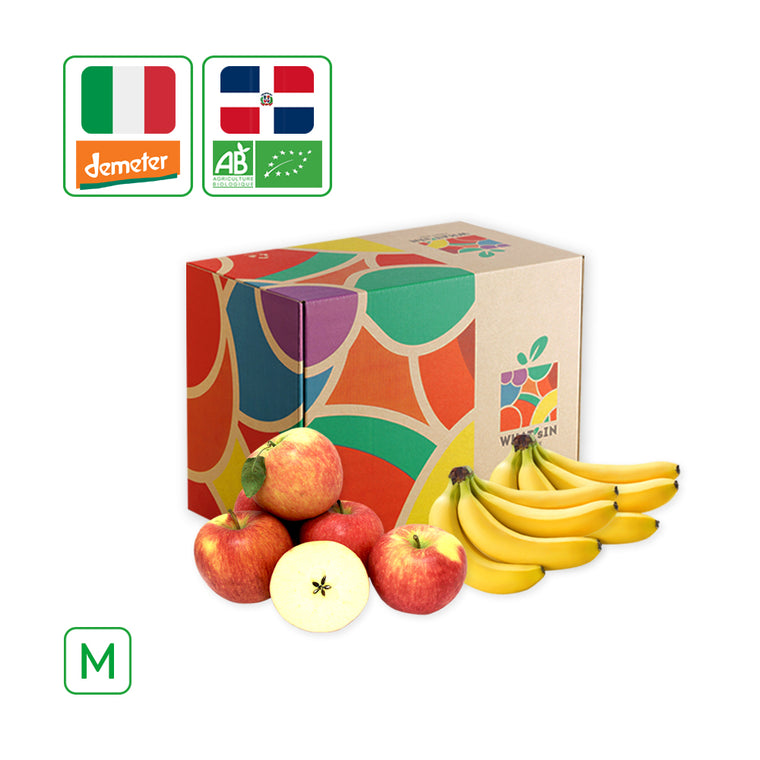 Cavendish Banana & Pinova Apple Duo (M - 2.5 KG)
