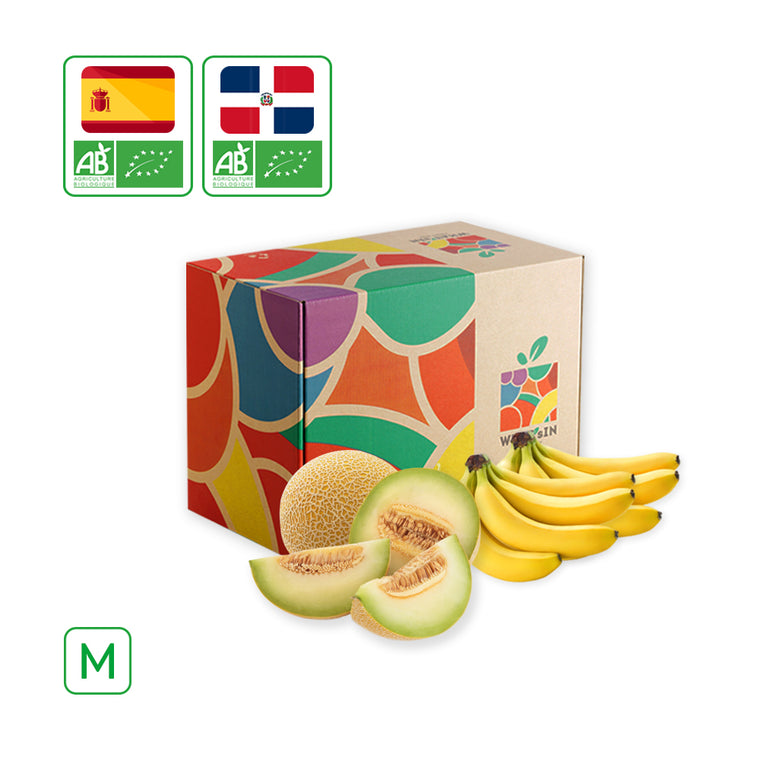 WHAT'sIN Galia Melon & Cavendish Banana Duo (M - 2.5 KG)