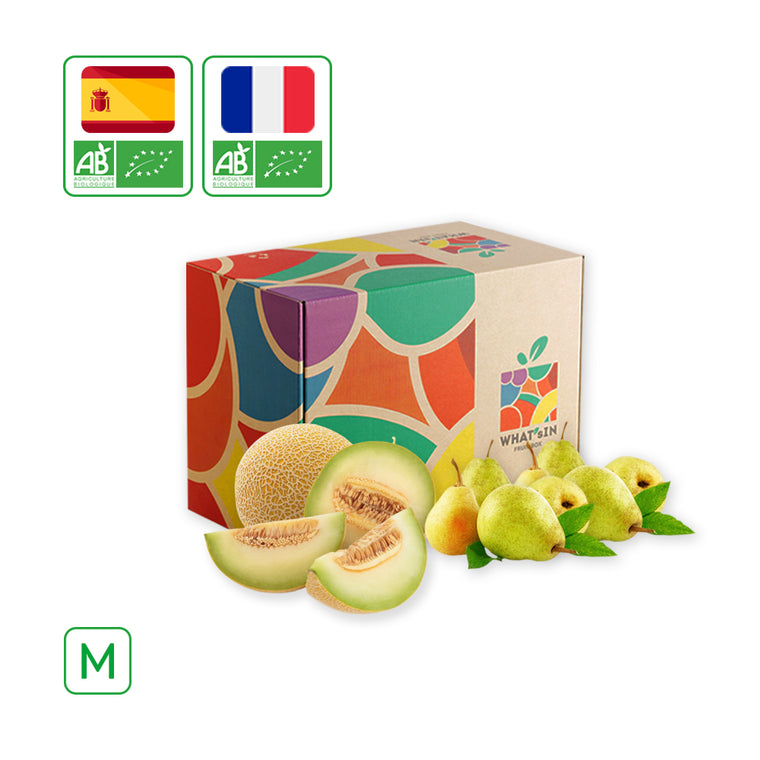 WHAT'sIN Galia Melon & Guyot Pear Duo (M - 2.5 KG)