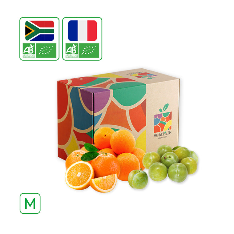 WHAT'sIN Reine Claude d'Oullins Plum & Navel Orange (M - 2.5 KG)
