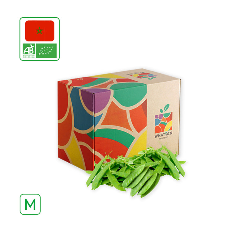 WHAT'sIN Snow Peas Solo (M - 2.5 KG)