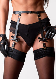 Waldbrand Leather Garter Belt - Amoreze