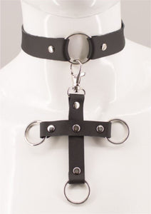 Riley Leather Choker - Amoreze