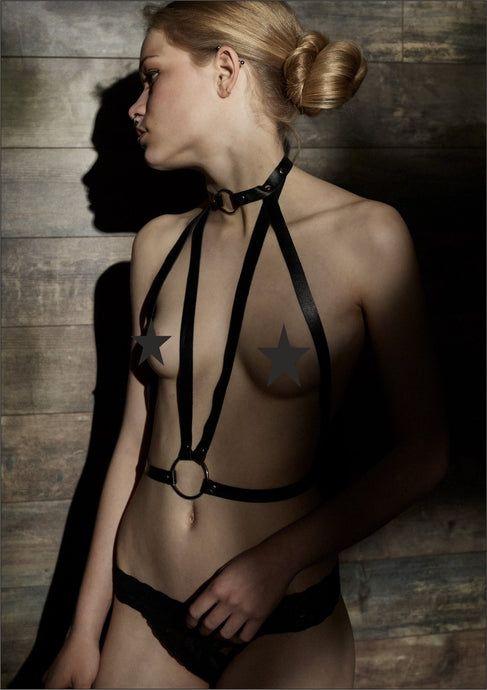 Soho Leather Harness - Amoreze