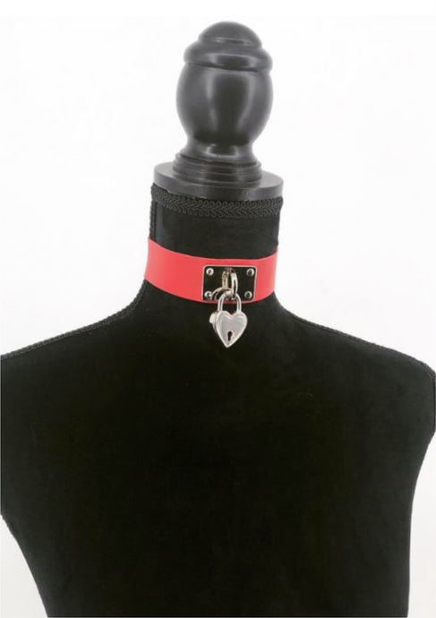 Isabella Leather Choker - Amoreze