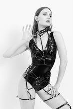 Load image into Gallery viewer, Prelude Bra Leather Harness - Amoreze