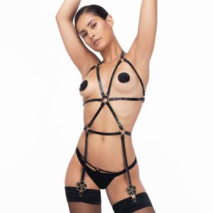 Riri Leather Harness: Premium product - Amoreze