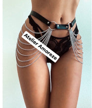 Load image into Gallery viewer, Wasp Leather Harness - Amoreze