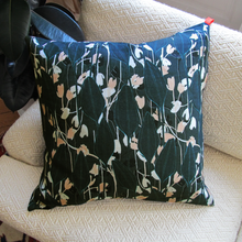 Grand coussin Green Tulip