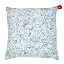 Grand coussin Blue Anemone