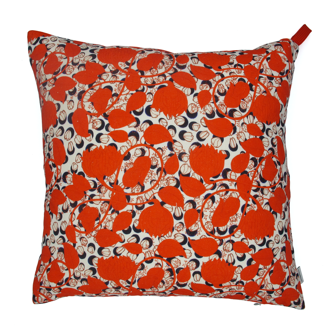 Grand coussin Red Leaf
