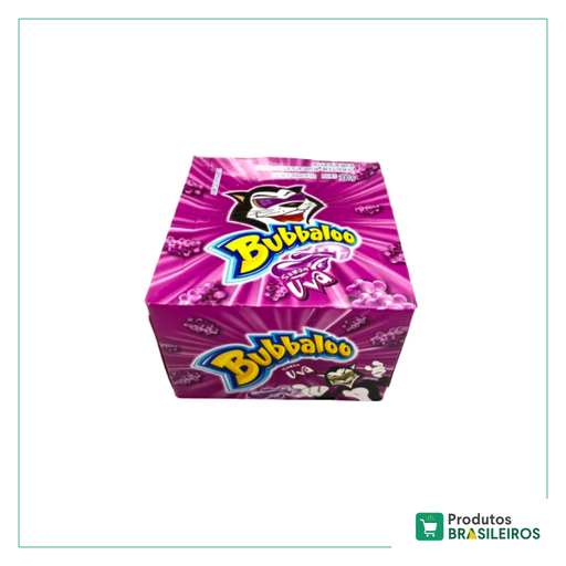 Chiclete de Uva BUBBALOO (Pack c/ 60un)
