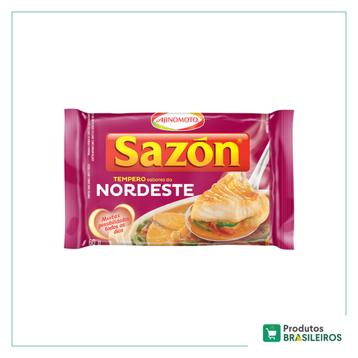 Tempero Sabor do Nordeste SAZON - 60g